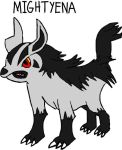 Mightyena by tanlisette