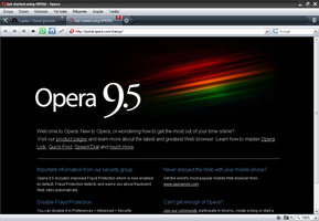 Opera 9.5 Official Screen Shot by themt