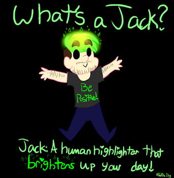 Jack's a Highlighter by Madistar2001