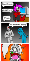 Art Block and Apathy by ComX-1