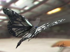 Mech butterfly by tommaso-sanguigni