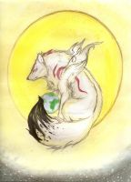 Amaterasu- Mother of the World by Earthsong9405