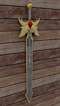 Request: Yu's sword by DovahYol-Atlae