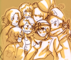 APH: The Thousand-Year Door by AeroEiko
