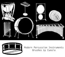 Brush - Percussion Instruments by eunoiastock