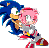 SonAmy by Eleanor-Devil