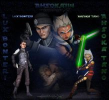 New ID_Lux Bonteri and Ahsoka Tano by Ahsoka114