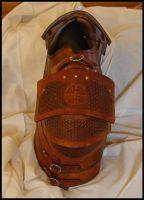 Gallo-Roman Leather Armour 3 by Bear-Crafter
