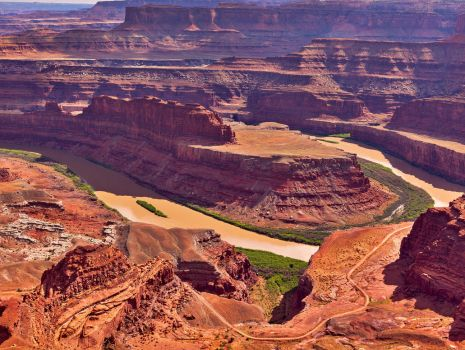 Dead Horse Point by coulombic