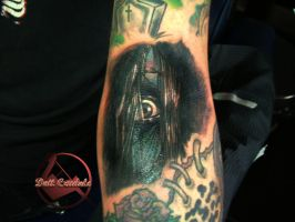 The Grudge Tattoo by dottcrudele