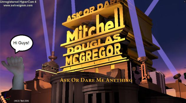 Ask Or Dare Mitchell Is Here On DA! by MitchTheLogoMan