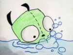 Gir in Water by cassiethelobaXD