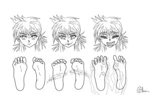 Play with feet  7 by Alma1129