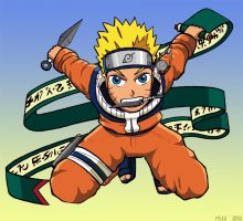 Naruto Colored by RightHandOfDoom