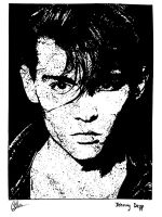 Johnny Depp - Cry Baby by vedabitsaha