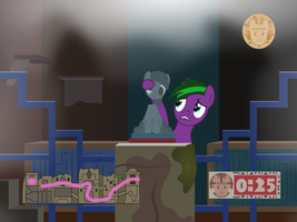 Gift Art : Shrine of the Silver Derpy by outlaw4rc