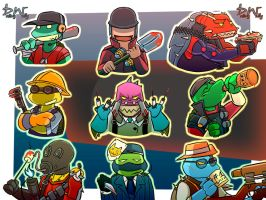 TMNT Fortress 2 by datingwally