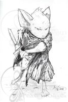 Mouse Guard - RPG Rules Sketch by nightshard