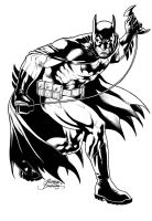 Batman Black and Wite by Buchemi