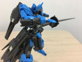 HG gundam Vidar by TSURUGIKNIGHT