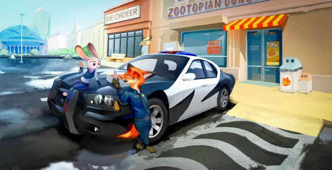 Usual day in Zootopia by ABCsan
