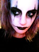 The Crow Makeup by WampireHeart