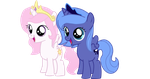 Woona and Tia by Luni-Loves