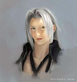 Sephiroth by BethanyAnnie