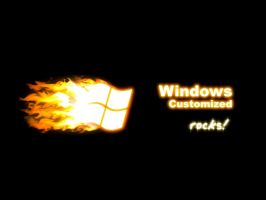 Windows Customized Rocks by gzalomoscoso