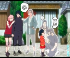 Uchiha Family by Silver-Bullet1
