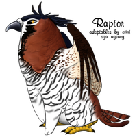 Ornate Hawk Eagle - custom by Alyssa-Rice