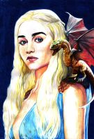 Game of Thrones: Mother Of Dragons by RyesAsylum27