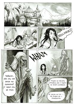 Mini Comic Page 1 by nolwen