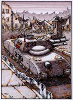 Future Tank 2 Colour Version by Frohickey