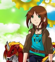 Digimon:: A new Tamer by Rain-of-Strife17