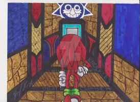 Knuckles In The Death Chamber by 1BetaOne