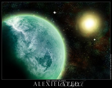 The Green Planet by Alexielated
