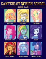 Canterlot Yearbook by xkappax