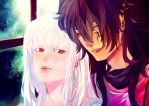 Comm Morning flirt by AniArie