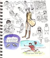 Sketchbook doodles 081711 by annit-the-conqueror