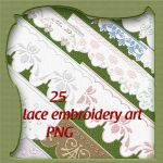 lace embroidery art by roula33