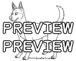 P2U: Canine Lineart Pack - 100 points/$1.00 USD by elsens