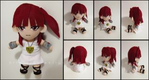 Plushie: Morgiana - Magi The Magical Labyrinth by Serenity-Sama