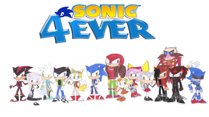 Sonic4Ever (my old YouTube Channel Background) by sonic4ever760
