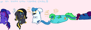 Chubbie Chibis by S-ombre-StarIight