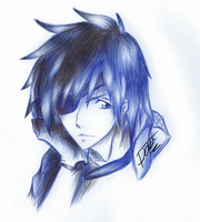 Lavi (BallPointPen) by passion00