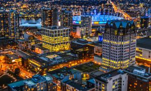 Rooftops of Vancouver by dashakern