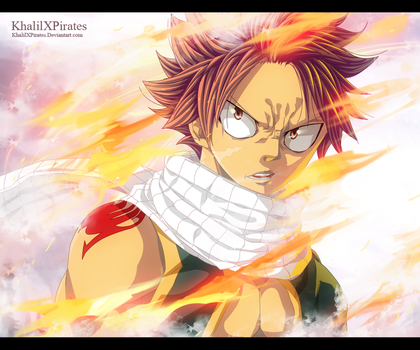 Fairy Tail 477 - Burning by KhalilXPirates