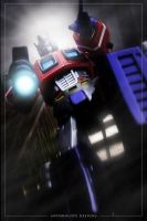 Optimus Prime by anthrolope