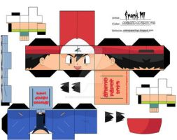 ash ketchum - pokemon cubee by animepapertoys